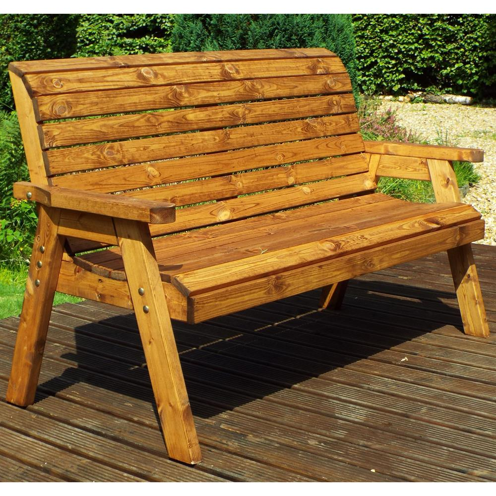 Picture of Charles Taylor: Three Seat Winchester Bench with Cushions
