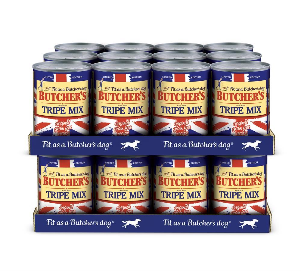 Picture of Butchers Tripe Mix (24 x 400g Tins)