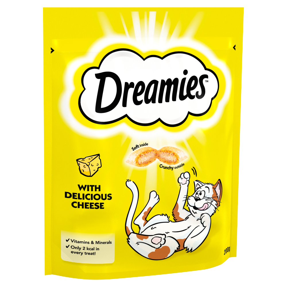 Picture of Dreamies Adult 1+ Cat Treats with Cheese Mega Pack 200g (6x)