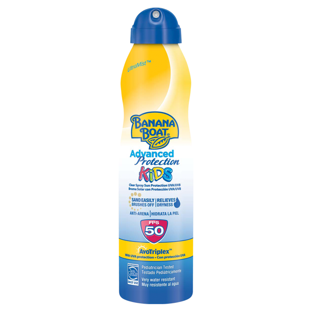 Picture of Banana Boat UltraMist Advanced Protection Kids Clear Spray Sun Protection SPF50 220ml