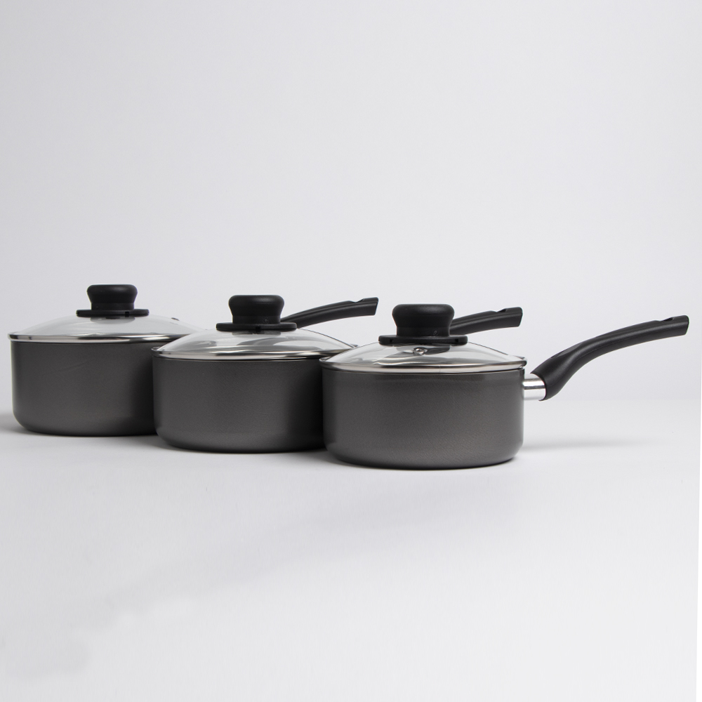 Picture of Open Kitchen: Non-Stick Saucepan With Lid - 16cm