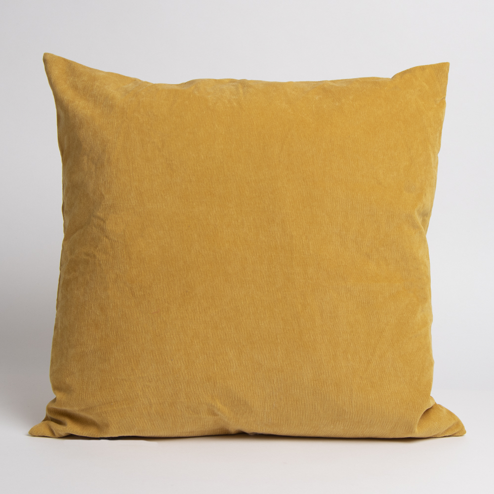 Picture of Home Collections: Large Corduroy Cushion - Ochre