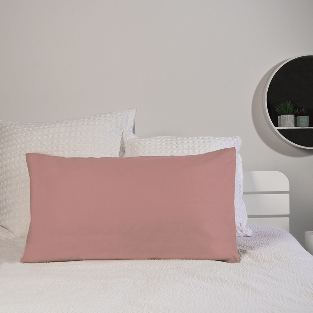Picture of Home Collections: 2 Pack Pillowcase - Blush Pink (2x)