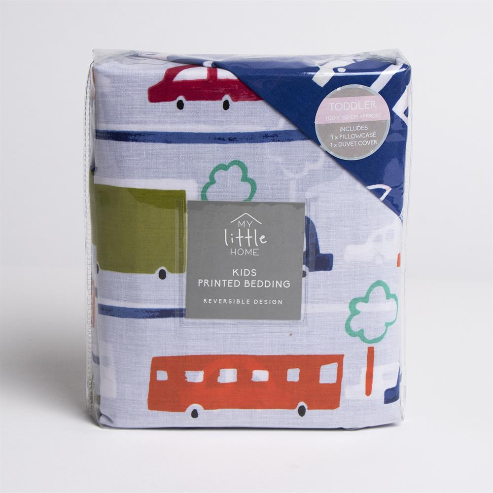 Picture of My Little Home: Kids Beep Beep! Printed Bedding