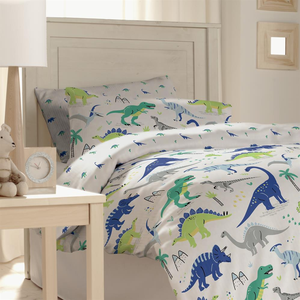 Picture of My Little Home: Kids Dinosaur Printed Bedding