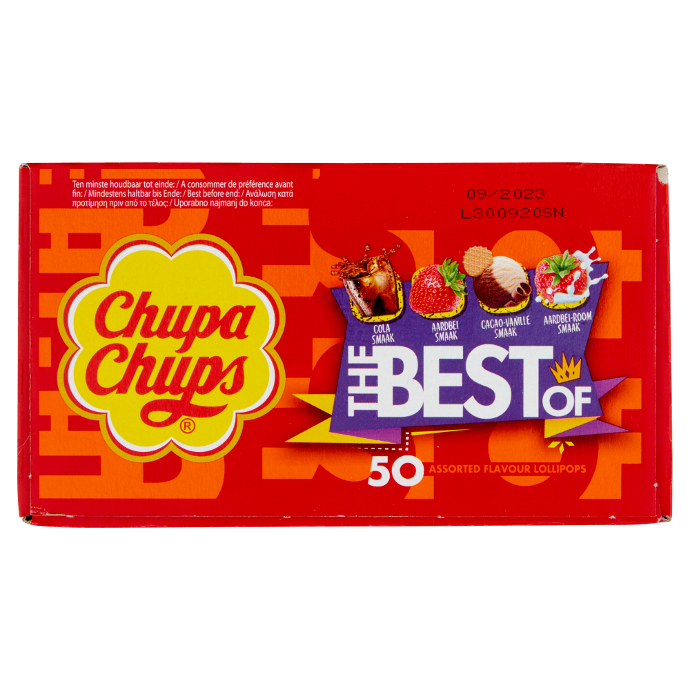 Picture of Chupa Chups Lollipops: The Best Of (50x)