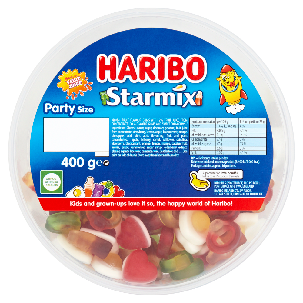 Picture of Haribo Star Mix 400g (8x)