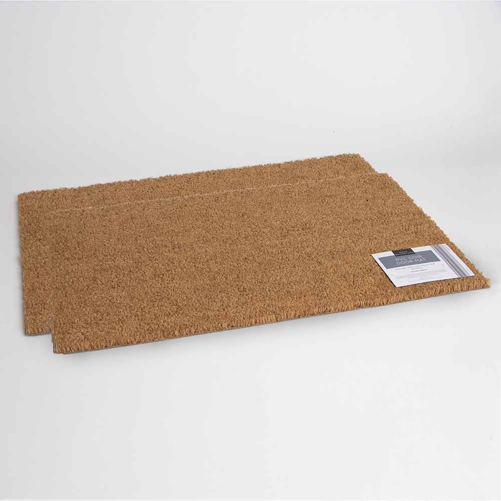 Picture of Home Collections: PVC Coir Door Mat (2x)