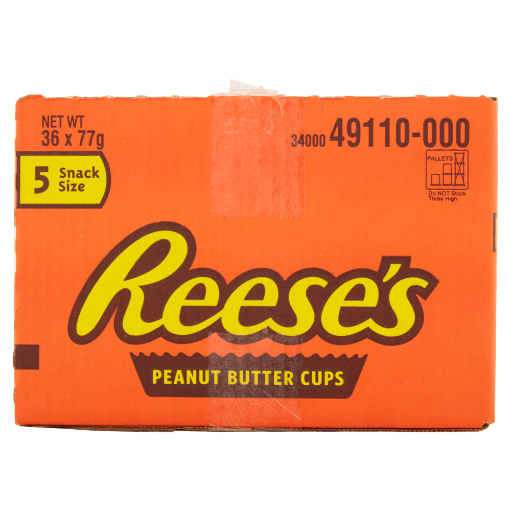 Picture of Reese's: Peanut Butter Cups Snack Size 5 Pack 77g (36x)