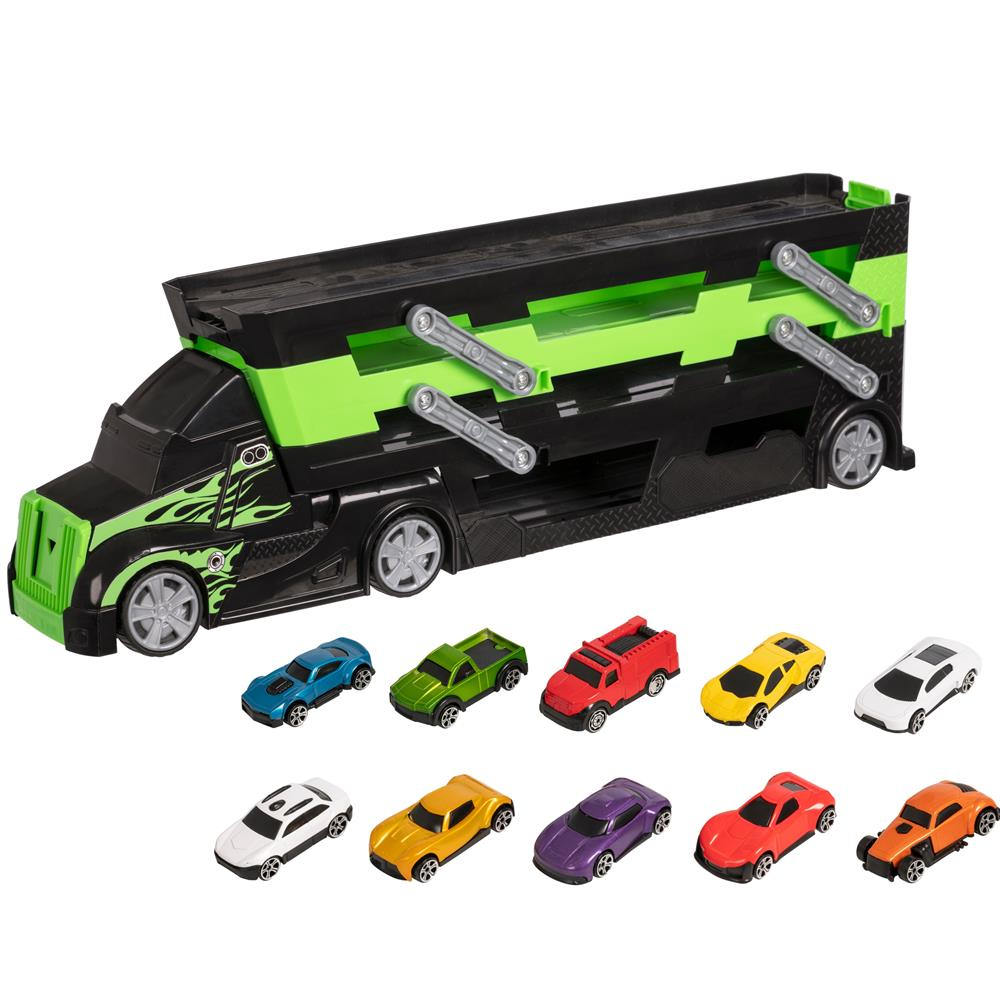 Picture of Teamsterz: Launcher Transporter with 10 Cars