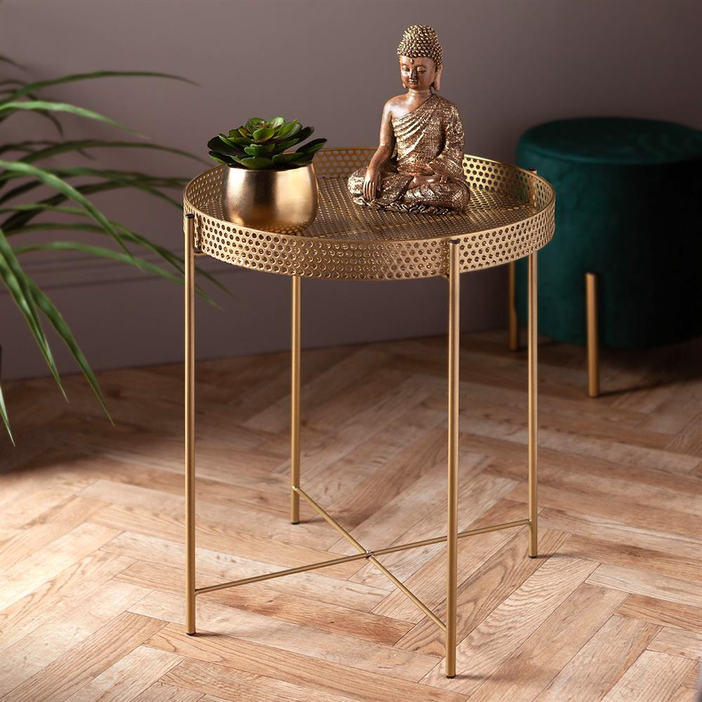 Picture of Ports Of Call by Jeff Banks: Metal Side Table