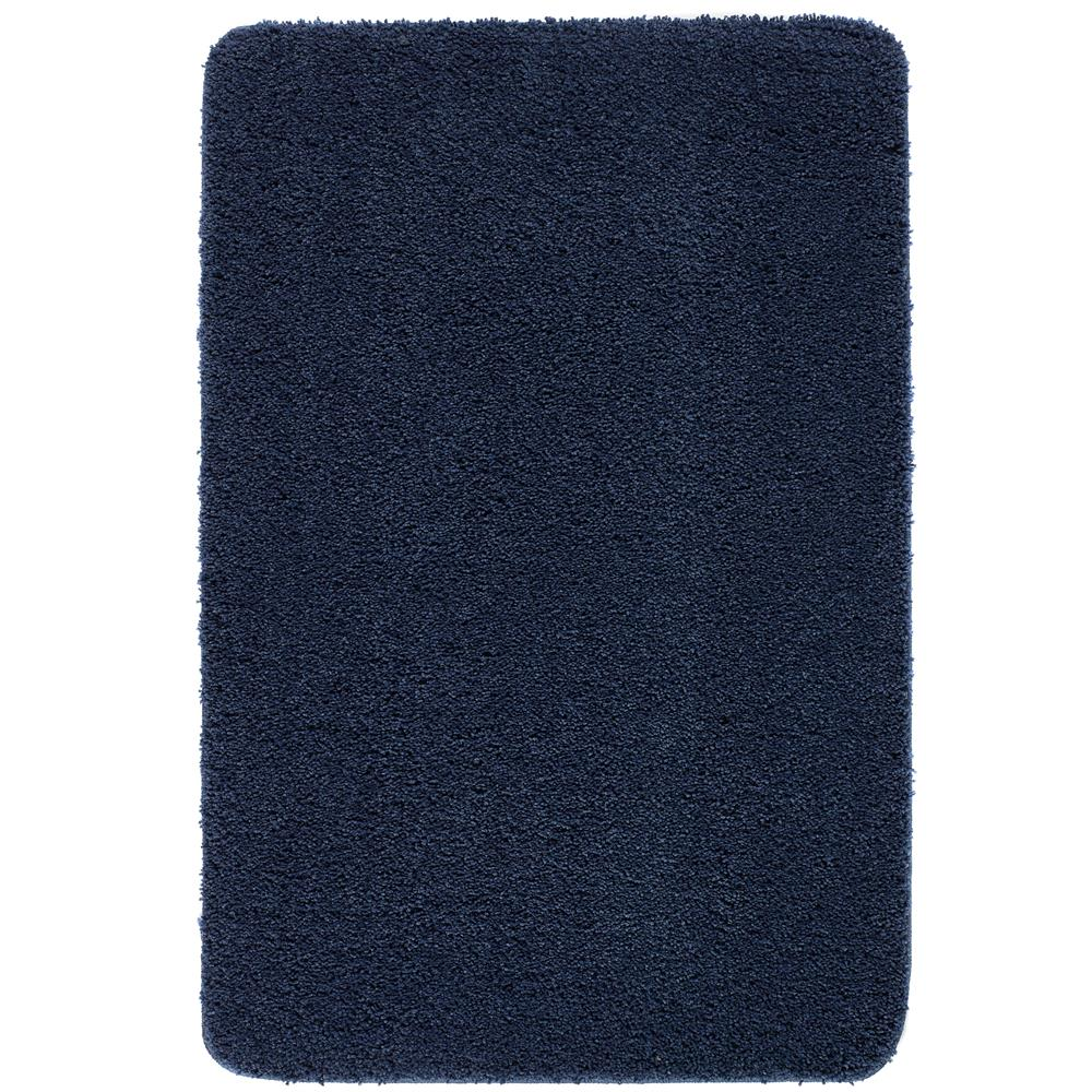 Picture of Home Collections Shaggy Washable Rug Midnight Blue 140 x 200cm