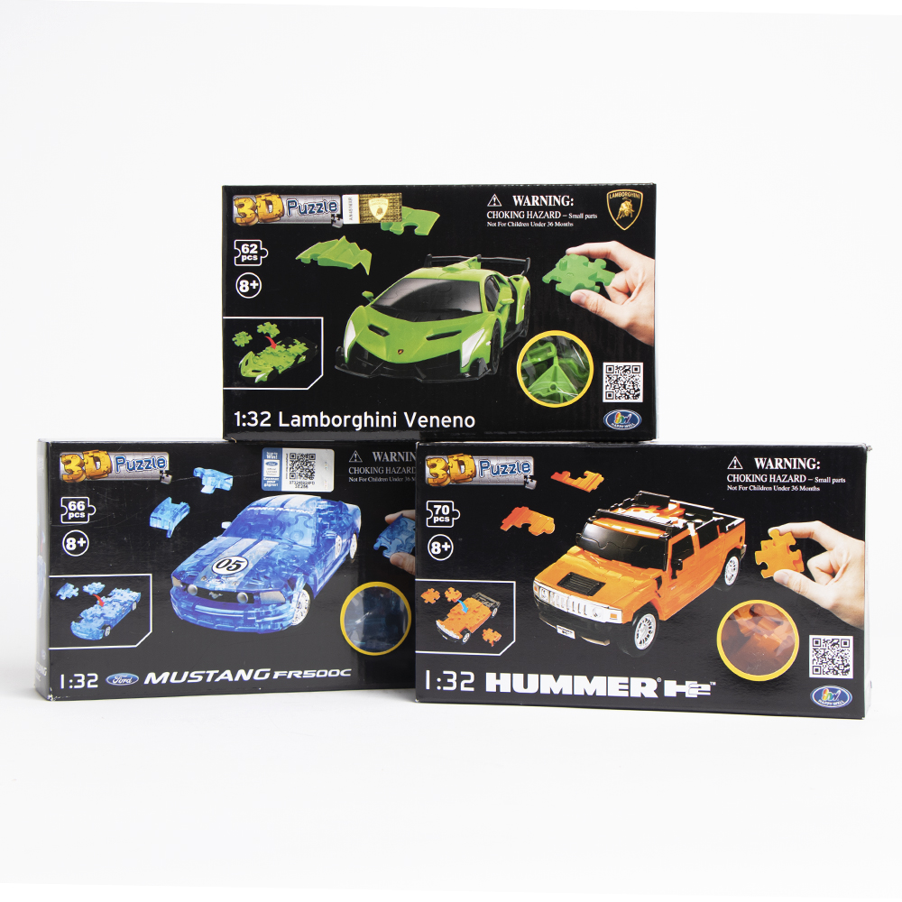 Picture of 1:32 Scale 3D Car Puzzle