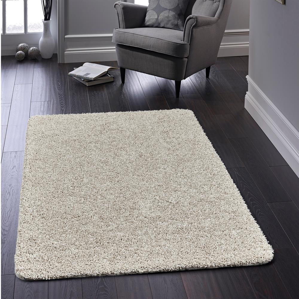 Picture of Home Collections Shaggy Washable Rug Pavilion Grey 140 x 200cm