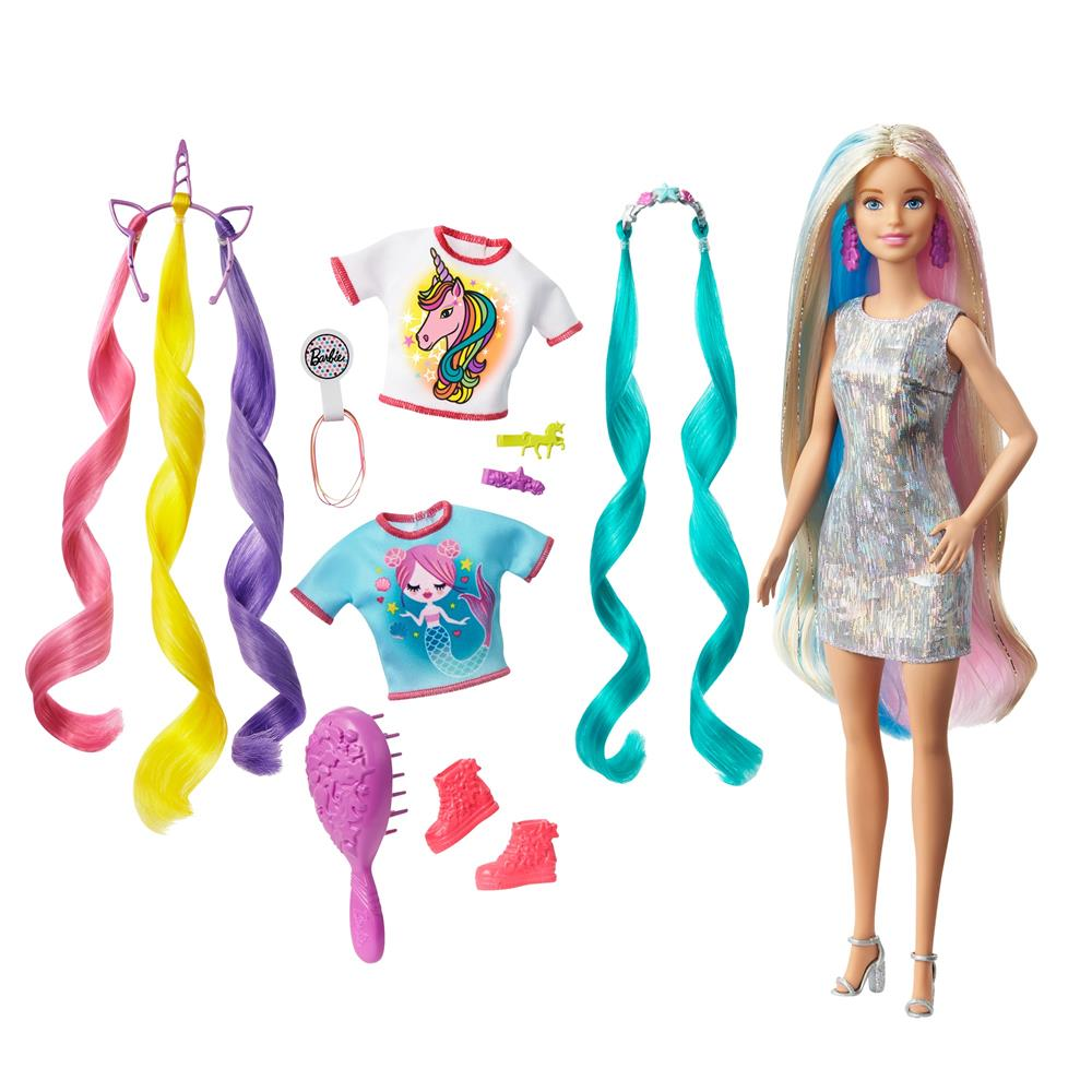 Picture of Barbie Fantasy Hair Doll
