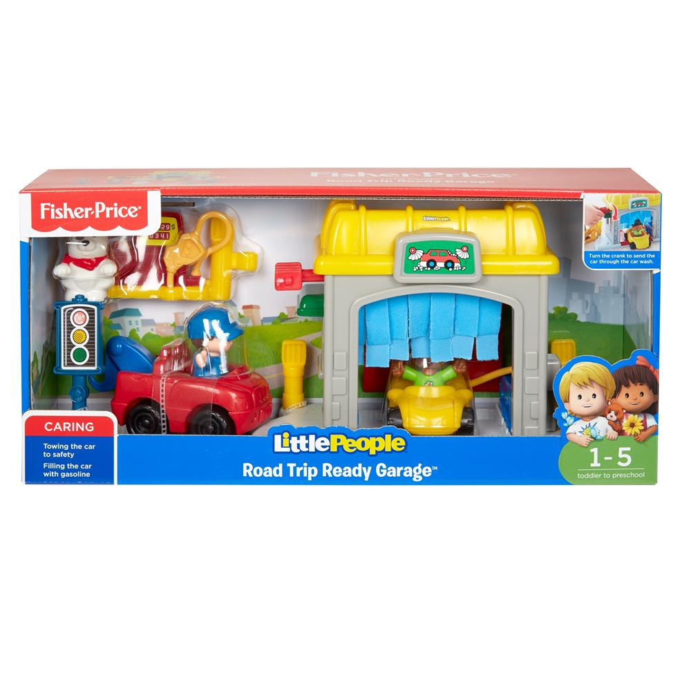 Picture of Fisher-Price Little People Road Trip Ready Garage