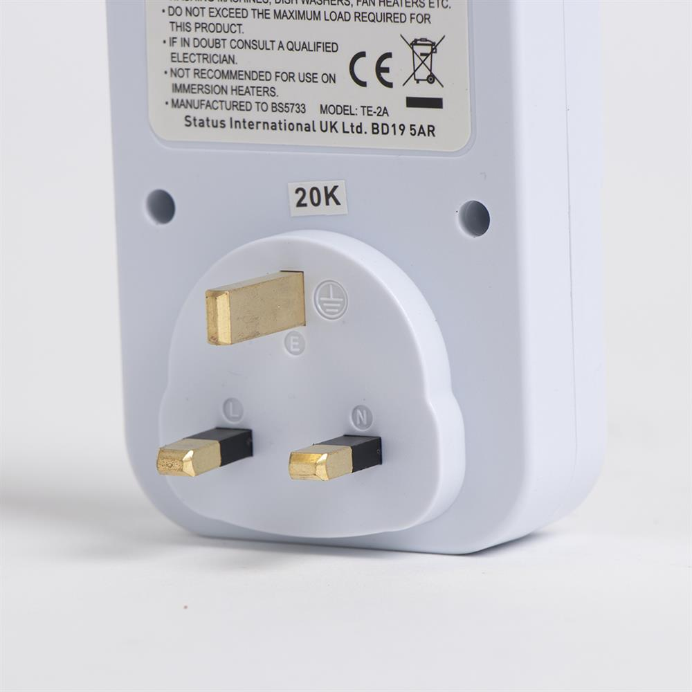 Picture of Status: 24 Hour Plug-in Timer Switch (2x)