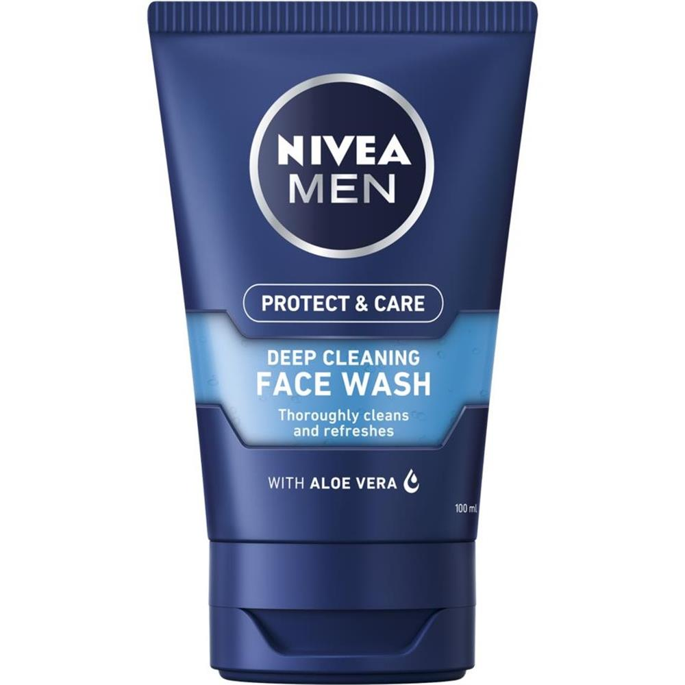 Picture of Nivea Men Protect & Care Deep Cleaning Face Wash 100ml