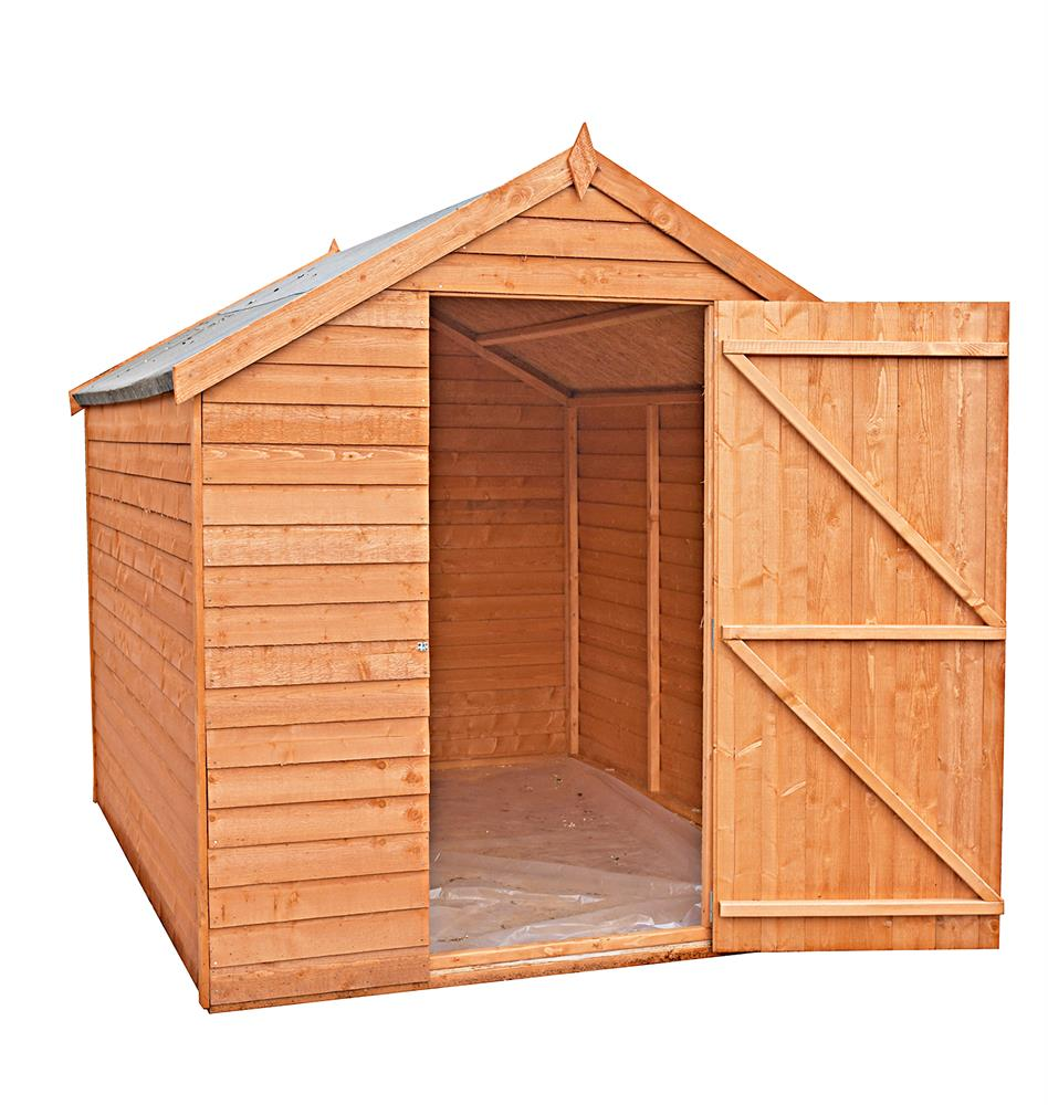 Picture of Shire Overlap 7x5 Single Door Shed