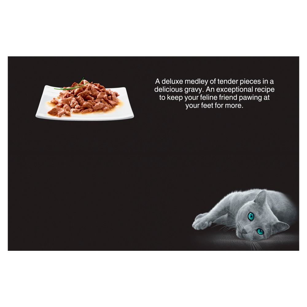 Picture of Sheba: Select Slices 24 Adult Wet Cat Food Pouches - Succulent Selection in Gravy