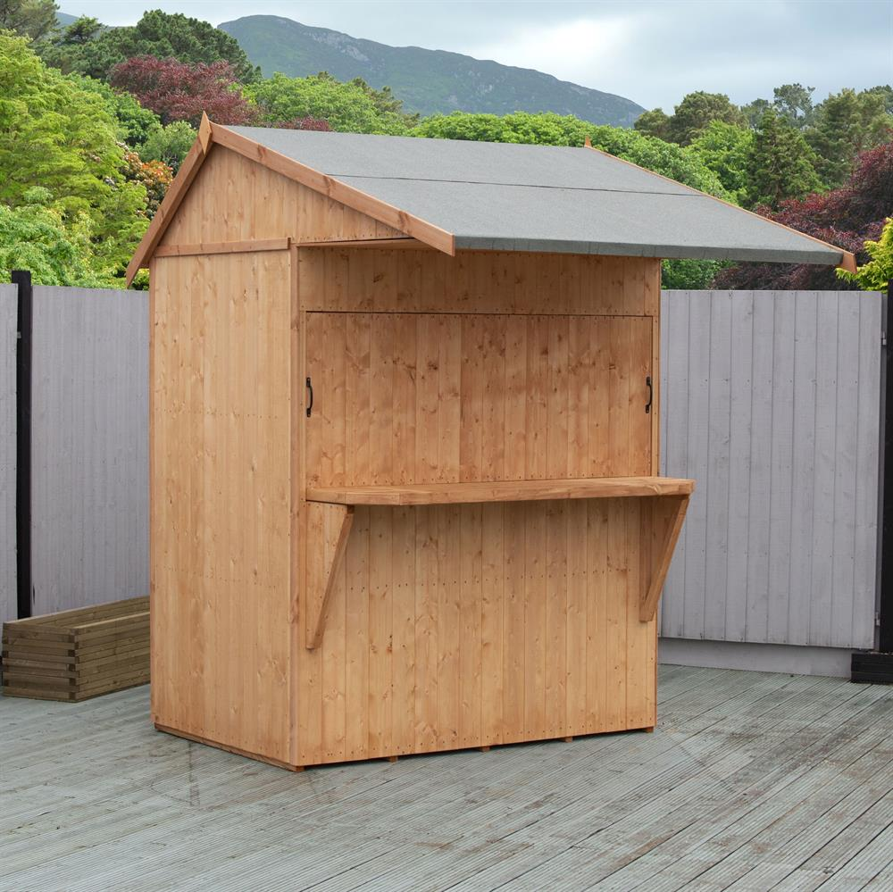 Picture of Shire 6x4 Garden Bar & Store