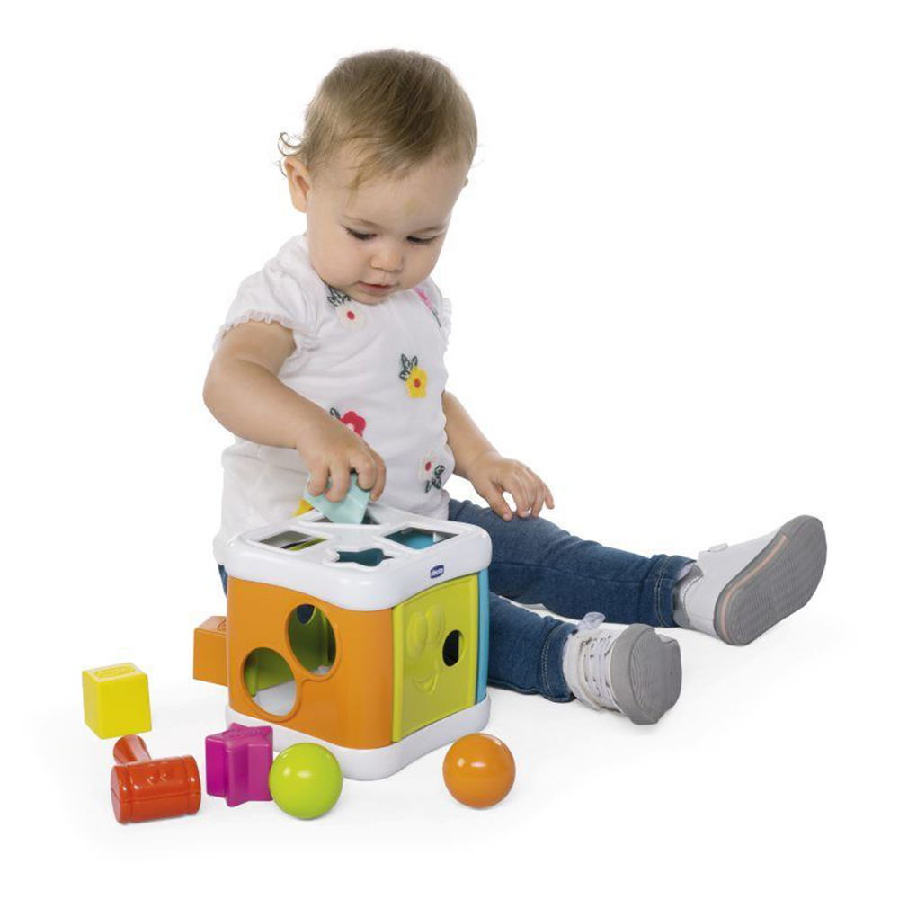 Picture of Chicco 2 in 1 Sort & Beat Cube