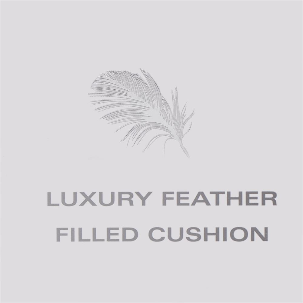Picture of Ports of Call by Jeff Banks: XL Luxury Feather Filled Cushion - Grey