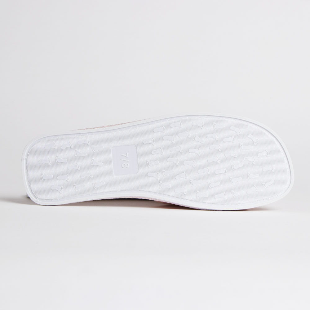 Picture of You & Me Team Bride Slippers: White
