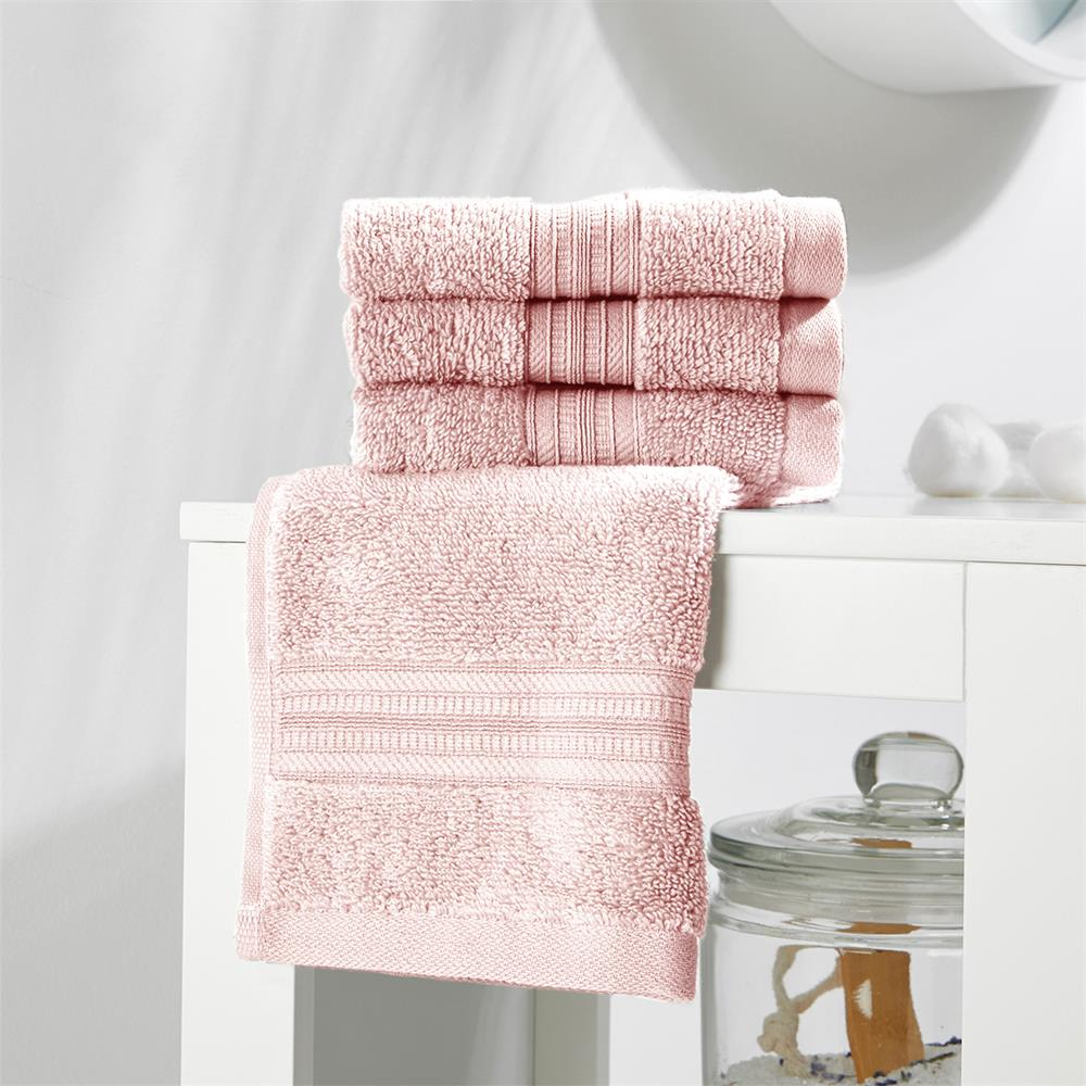 Picture of Home Collections: Luxury Face Cloth Four Pack - Pink