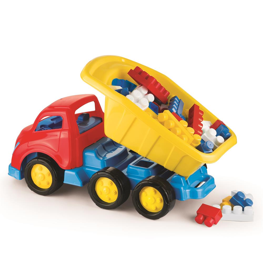 Picture of Dolu Jumblocks 50 Piece with Maxi Truck