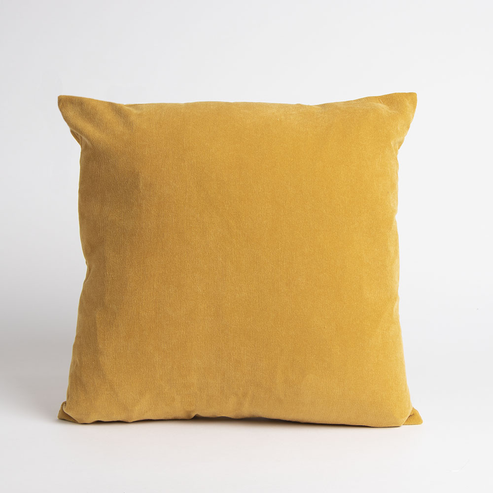 Picture of Home Collections: Medium Corduroy Cushion - Ochre