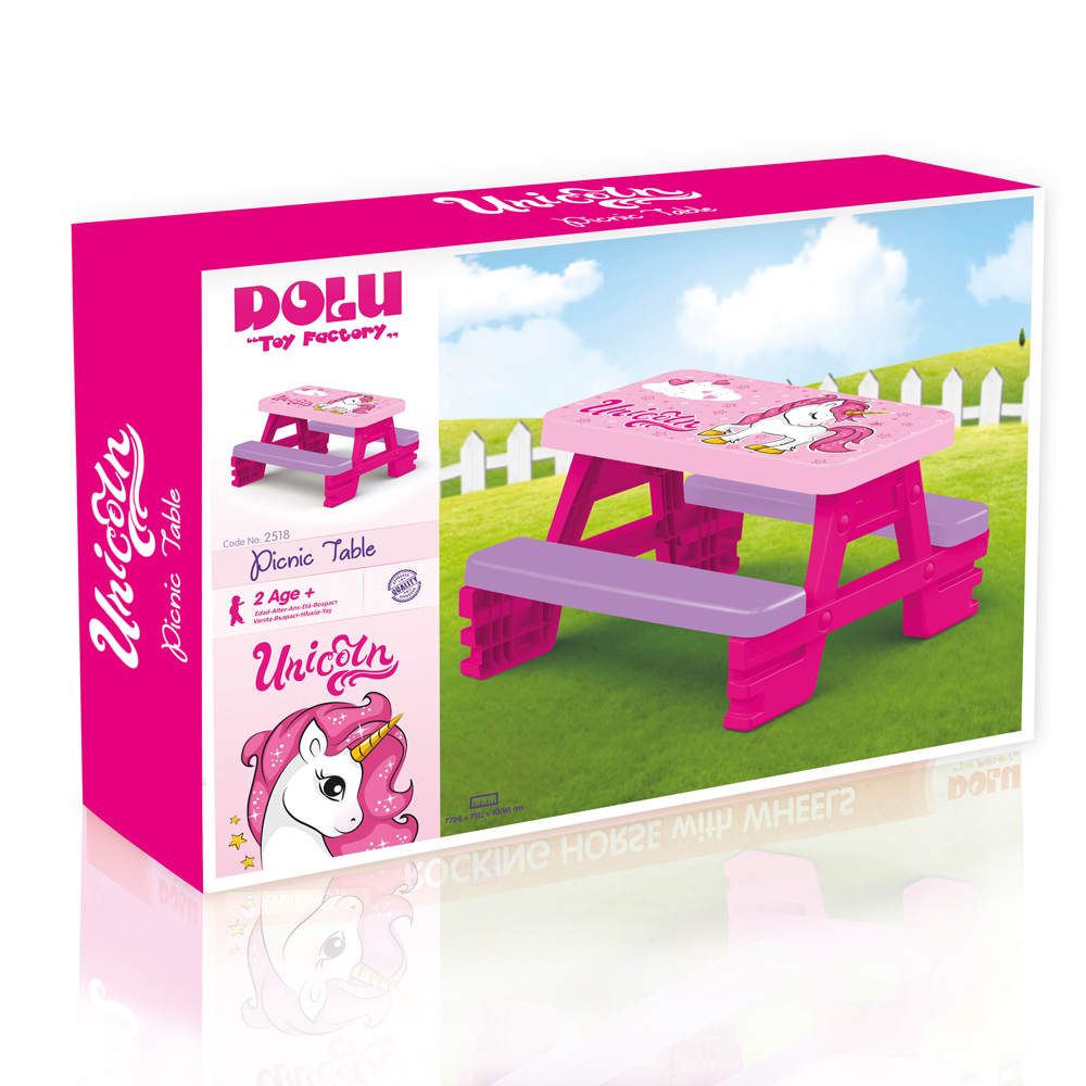 Picture of Dolu Unicorn Picnic Table for 4