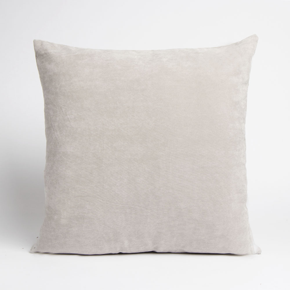 Picture of Home Collections: Large Corduroy Cushion - Silver