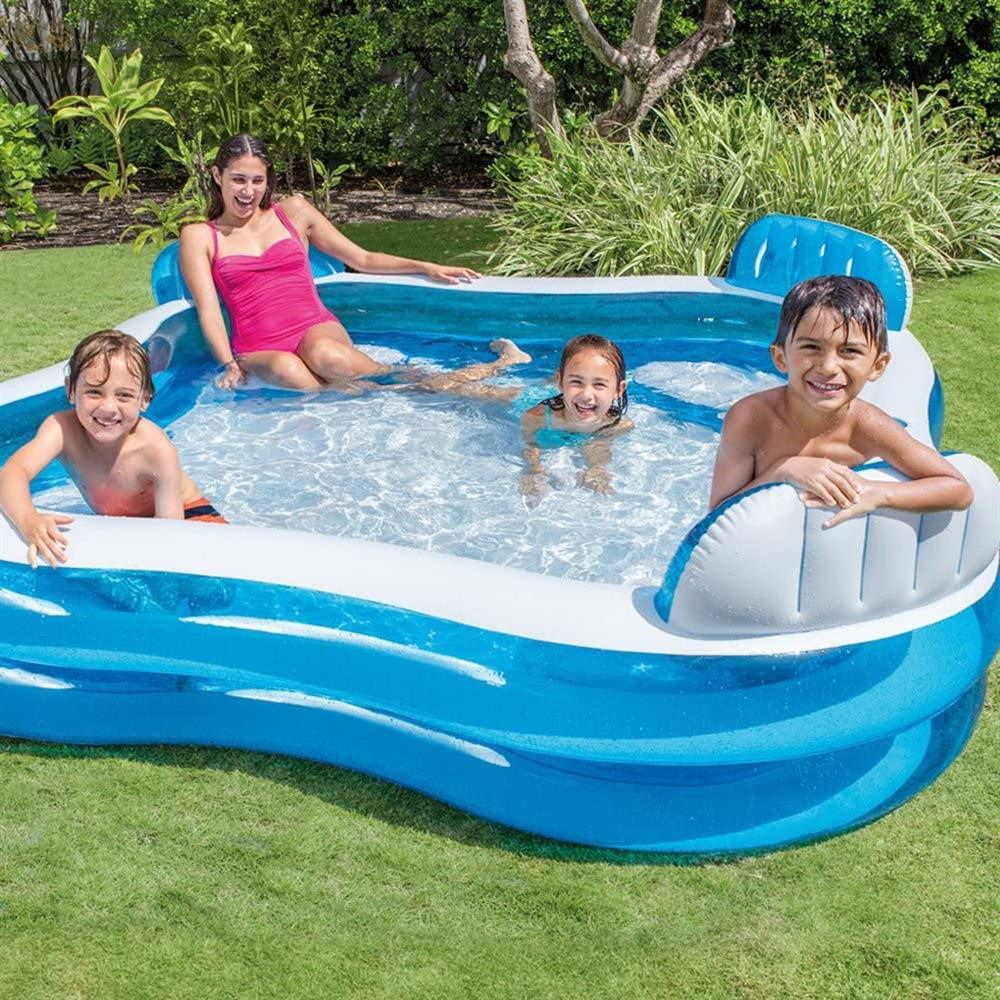 Buy Intex Swim Centre Family Lounge Inflatable Pool At Home Bargains