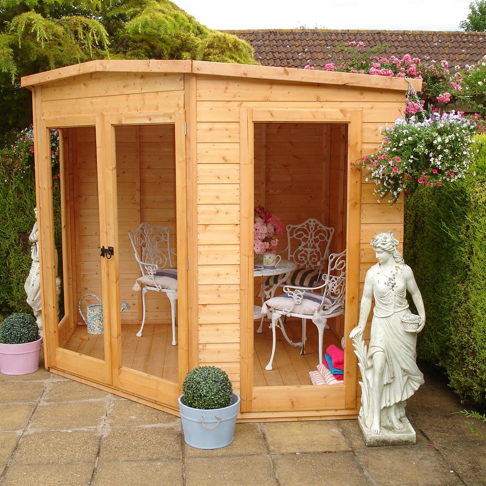 Picture of Shire 7x7 Barclay Corner Summerhouse