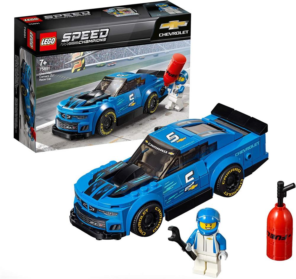 Picture of LEGO Speed Champions Chevrolet Camaro ZL1 Race Car 75891