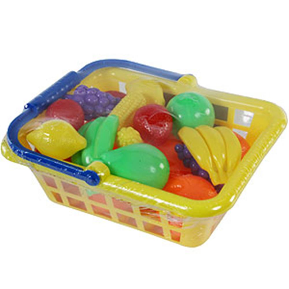 Picture of Let's Play! Play Food Shopping Basket