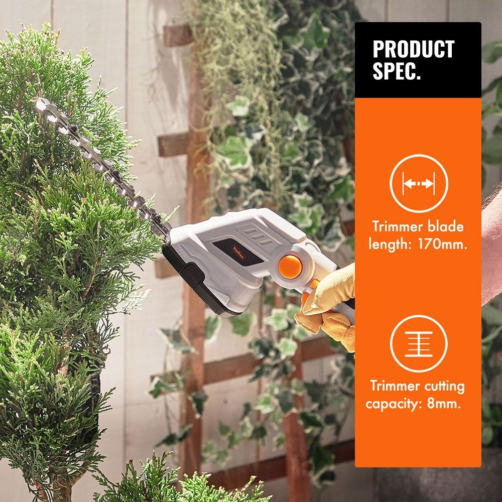 Picture of VonHaus 7.2V 2 in 1 Cordless Grass and Hedge Trimmer