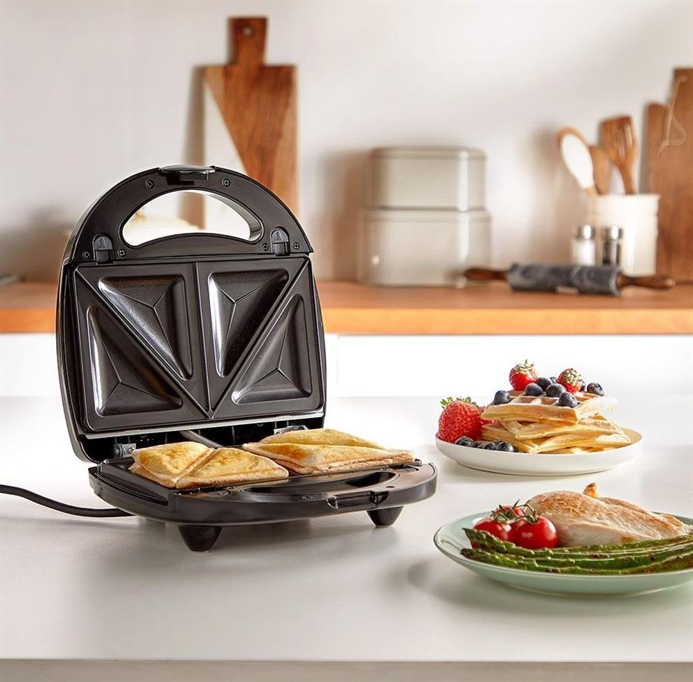 Picture of VonShef 3-in-1 Sandwich Toaster, Waffle Maker & Grill