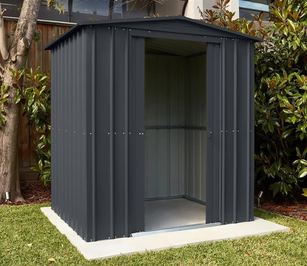 Picture of Store More Lotus Metal Apex Roof Shed 6 x 3
