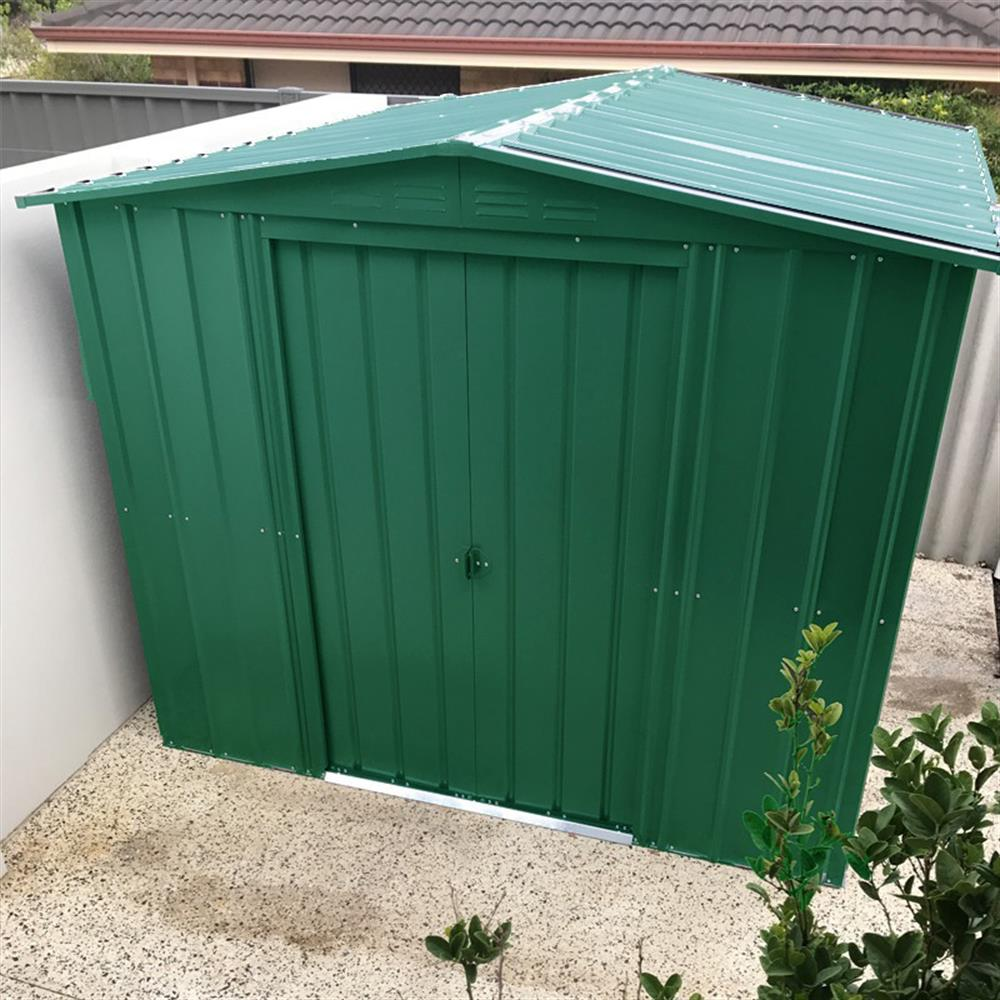 Picture of Store More Lotus Metal Apex Roof Shed 8 x 3