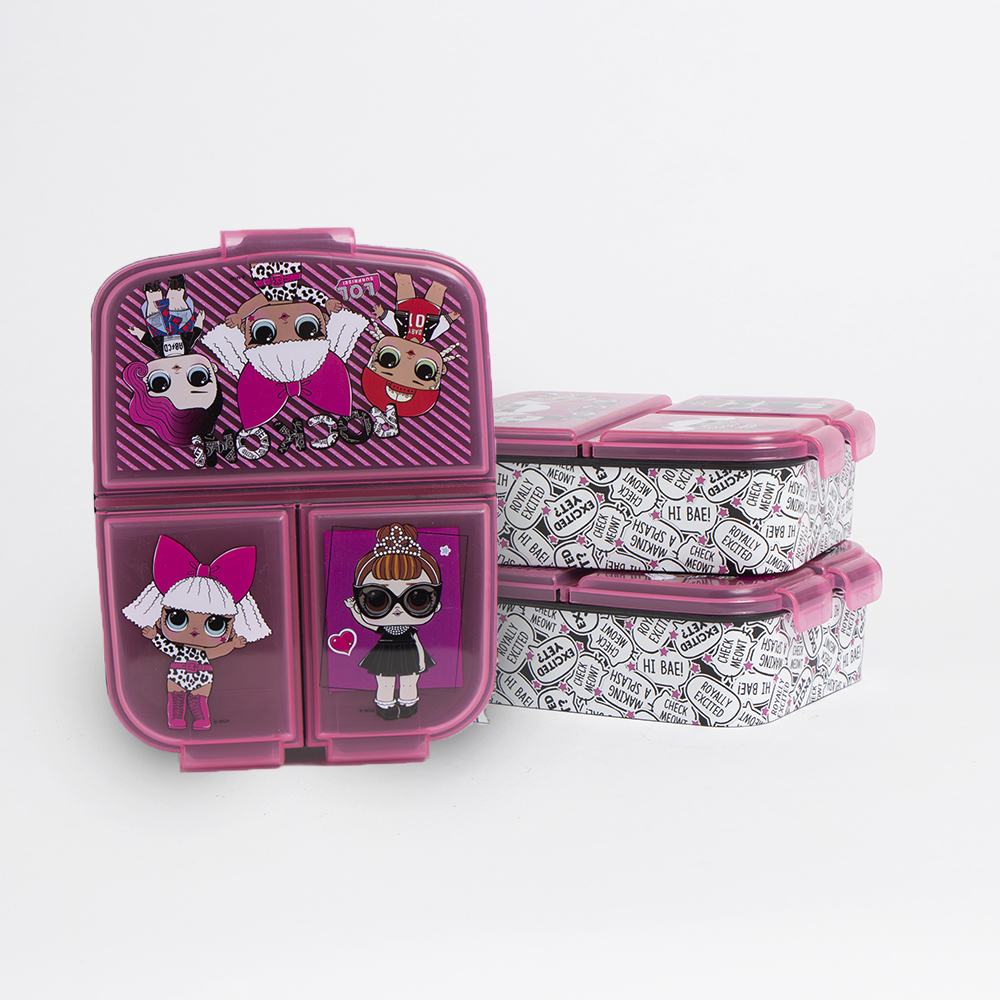 Picture of LOL Surprise!: 3 Compartment Lunch Box (Case of 2)