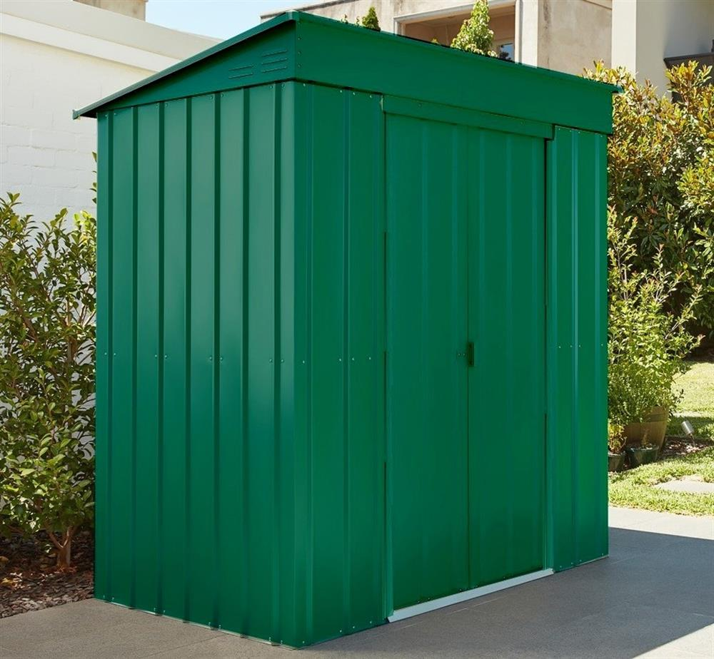 Picture of Store More Lotus Metal Pent Roof Shed 5 x 3