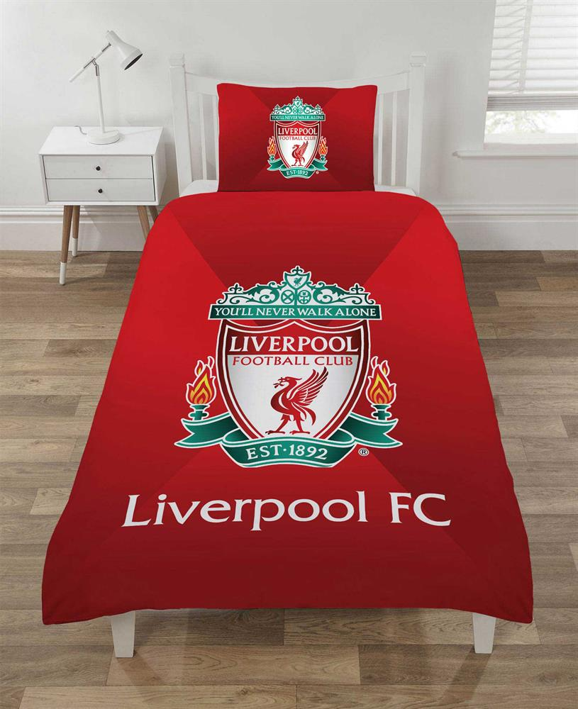 Picture of Liverpool FC: This Is Anfield Reversible Duvet Set - Single