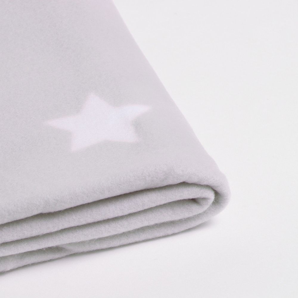 Picture of Home Collections: Printed Fleece Throw - Starry Grey
