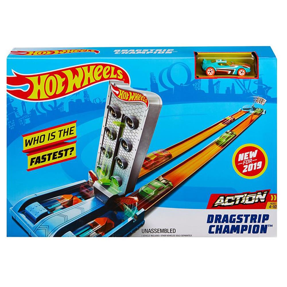 Picture of Hot Wheels: Action Dragstrip Champion Track Set GBF81/ 82