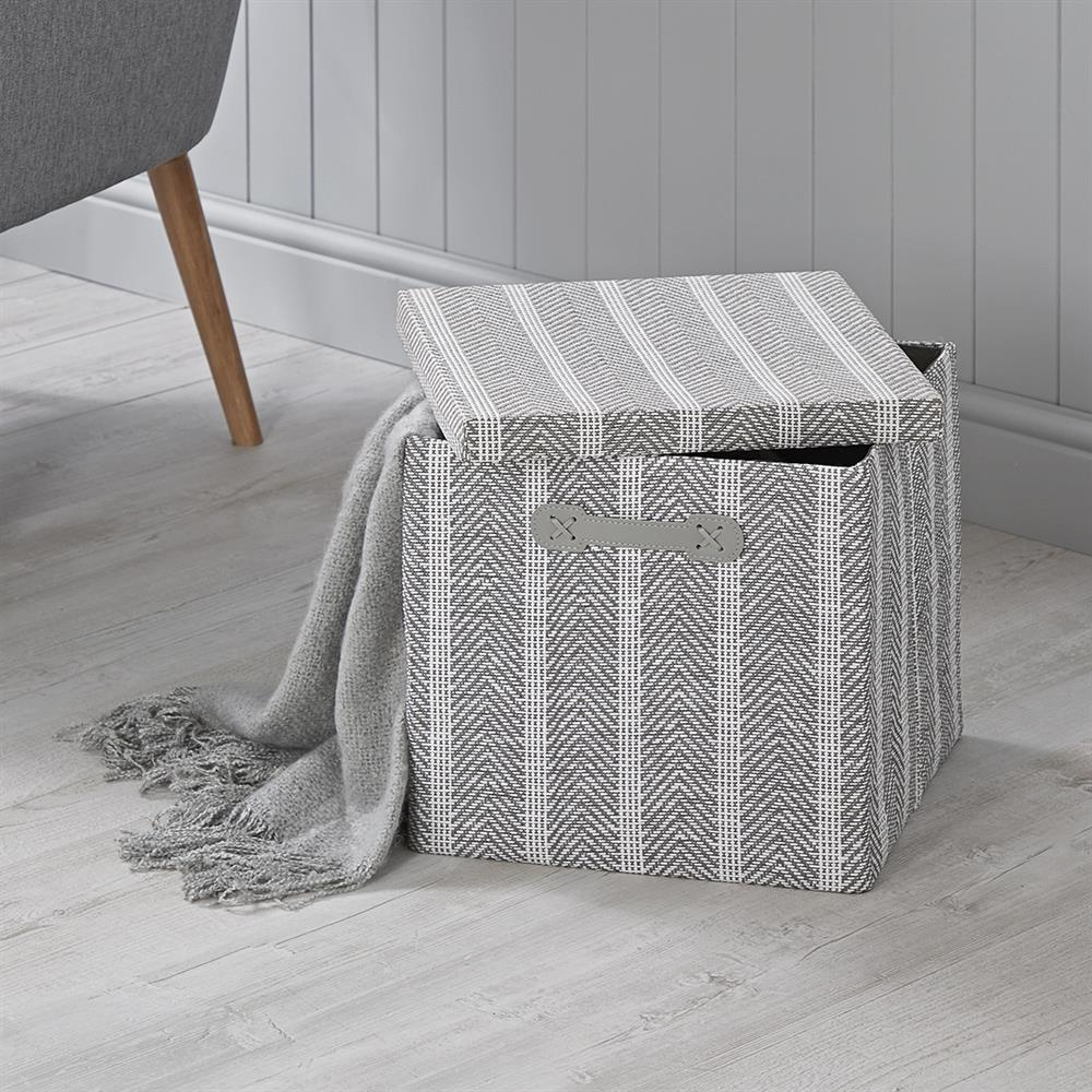 Picture of Home Collections: Foldable Fabric Storage Box - Chevron