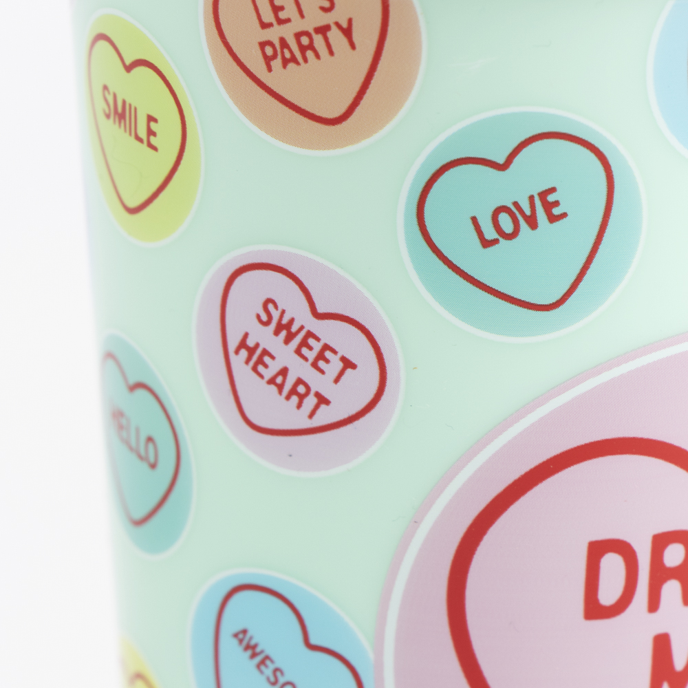 Picture of Swizzels: Love Hearts Take Out Mug