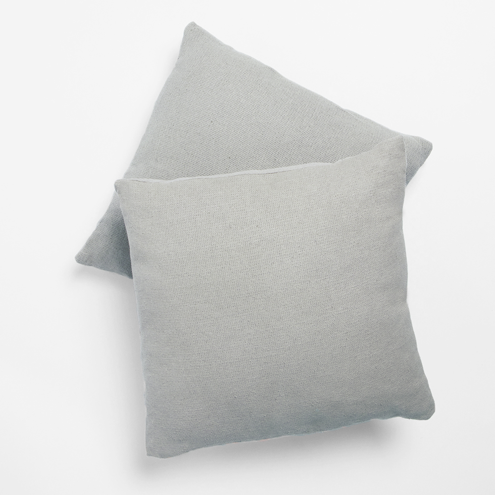 Picture of The Outdoor Living Collection: 2 Cotton Cushions - Grey