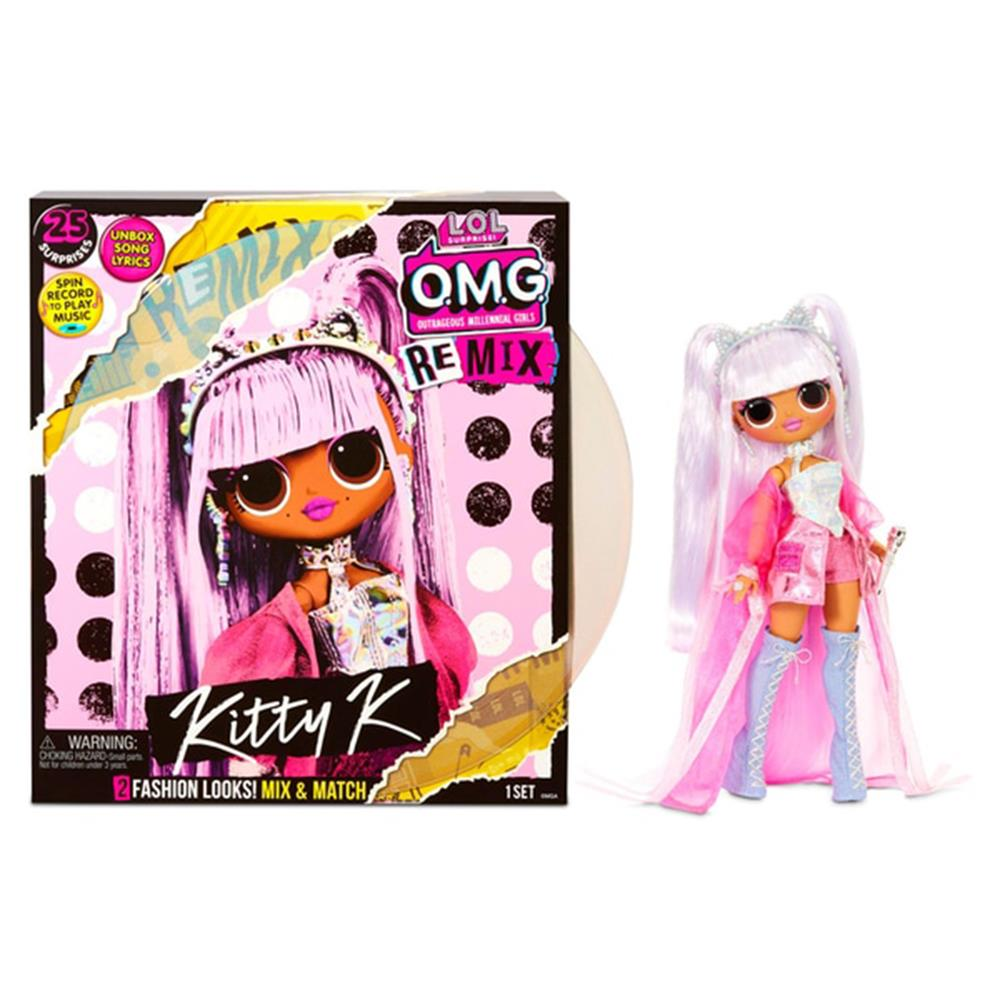 Picture of LOL Surprise!: OMG Remix Fashion Doll - Kitty K